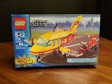 LEGO 7732 City Town Air Mail Plane Complete, No Box