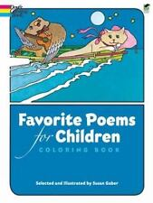 Dover Classic Stories Coloring Book: Favorite Poems for Children Coloring Book …