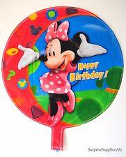 "MINNIE MOUSE round foil balloon 18""(45cm) birthday party decoration AU SELLER!"