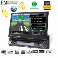 7''Car Stereo DVD Player Single 1Din Indash Autoradio Touch Screen GPS Head Unit