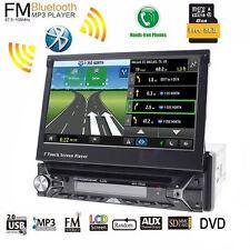 7''Car Stereo DVD Player Single 1Din Indash Autoradio Touch Screen GPS Head Unit