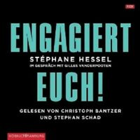 STEPHANE HESSEL: ENGAGIERT EUCH! CD HÖRBUCH NEW
