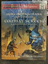 Middle Earth Role Playing 2nd Edition Combat Screen & Reference Sheets Sealed