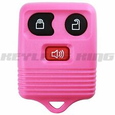 New Pink Replacement Keyless Entry Remote Car Truck Key Fob Clicker Control