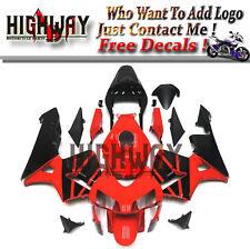Fairings For Honda CBR600RR F5 2003 04 2004 ABS Fairing Kit Bodywork Red Black 2