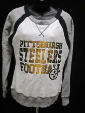 New Pittsburgh Steelers Womens Size Small White Majestic Sweater MSRP $55