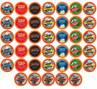 40 BEST Of The BEST Flavored K-Cups Coffee Variety Pack for Keurig K-Cup Brewers