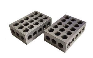 RDG ENGINEERS 25 50 75 BLOCKS PRECISION GROUND HARDENED SAME AS 1 2 3 BLOCKS