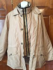 Burberry London Jacket Vest 2 in 1 Parka Coat Men's sz Large