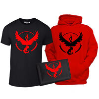 Kids Team Valor Triple Pack - gamer go anime t shirt hoodie wallet cool gaming