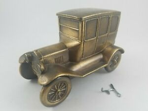 Vintage Antique 1927 FORD MODEL T CAR COIN BANK By BANTHRICO Chicago USA