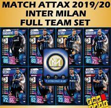 MATCH ATTAX 2019/20 INTER MILAN - FULL 9 CARD TEAM SET