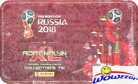 2018 Panini Adrenalyn FIFA World Cup HUGE MEGA TIN-54 Cards+3 LIMITED EDITION!