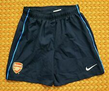 Arsenal, Away Football Shorts by Nike, boys, youth Medium 140-152