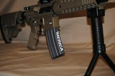 0004  'MERICA  (5) Mag decals - sticker AR15 magazine S&W Colt