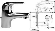 MONOCOMANDO MISCELATORE GS TURCHESE LAVABO SCAR AUTOM made in Italy 2962
