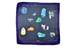 Paul Smith Mens Precious Stones Silk Pocket Square Brand New