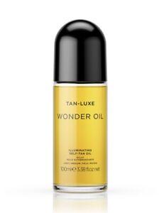 Tan-Luxe Wonder Oil Illuminating Self-Tan Oil ~ 3.38 fl. oz./100 ml ~ BNIB