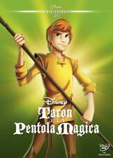 Taron E La Pentola Magica - I Classici Disney 25 (1985) DVD SlipCover