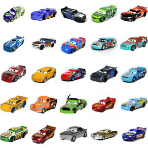 Disney Pixar Metal 1:55 Blue McQueen Cars Mini Model Toy Racer Car Kids Gift Toy