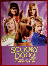 SCOOBY DOO 2 - MONSTERS UNLEASHED - Promo Card P1 - Inkworks, 2004