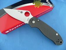 Spyderco C223CF52100P Para 3 Knife Carbon Fiber 52100 Carbon Steel Limited #156V