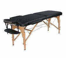 Heaven Massage Ultra lightweight Portable Massage Table Black