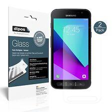 2x Samsung Galaxy Xcover 4 Protector de Pantalla Vidrio Flexible Mate Proteccion