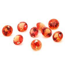 Schmuck und natürliche Saphire in Orange