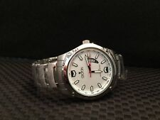 Croton Men's White Dial Stainless Steel Watch Unique!