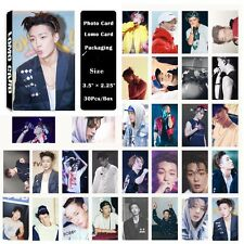 Fashion Cute 30pcs /Box Kpop IKON BOBBY Photo card Lomo card