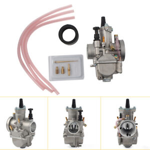 30mm Carburetor With Power Jet for Motorcycle Scooter ATV High Performance US