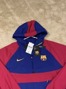 Mens XXL Barcelona FCB Loose Fit 1997 Speed Approach Convertible Jacket NWT $130