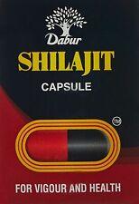 Dabur Shilajit 30 Caps + Free Shipping WorldWide