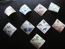MONACO - timbre yvert et tellier taxe n° 39A a 55 n** (A17) stamp