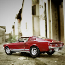 1:18 Ford Mustang GTA Fastback 1967 Muscle Racing Champion Car Diecast Model
