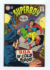 DC Comics Superboy #151 VG/F+ 1968