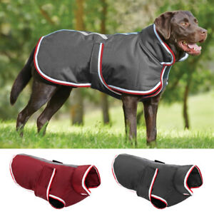 L-4XL Dog Coats for Large Dogs Winter Waterproof Pitbull Clothes Warm Pet Jacket