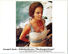 TRISH VAN DEVERE Gorgeous Color ORIGINAL Movie Photo THE SAVAGE IS LOOSE