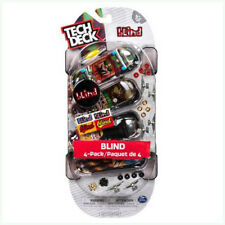 Tech Deck - 4 Pack of 96 mm doigt Boards New 2018