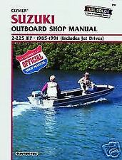 Suzuki Marine 2-225hp 1985-1991 Outboard Motor Boat Shop Service Repair Manual