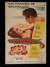 THE ADMIRABLE CRICHTON * KENNETH MORE * ARGENTINE 1sh MOVIE POSTER 1957