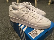 Mens Adidas Rivalry Low Trainers White Size 7