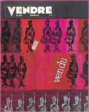 ▬►MARKETING PUBLICITÉ --- VENDRE N° 398 (AVRIL 1963) -- COVER ANNA-MARIE BODSON