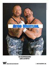 WWF WRESTLING PROMO gli sconfitti FAN CLUB foto dal 1989 LUKE & Butch