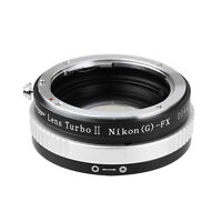 New version! Lens Turbo II adapter for Nikon F(G) mount lens to FUJIFILM X-Pro2