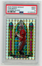 New Listing2020 Panini Mosaic Stained Glass Tom Brady Tampa Bay Buccaneers Psa 9