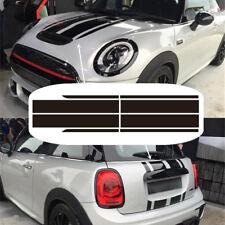 Hood + Trunk Lid Stripe Decal Sticker Universal For Mini Cooper F56 JCW Custom