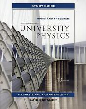 Study Guide for University Physics Vols 2 and 3 for University Physics with