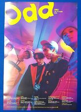 Shinee - Odd (Ver.A) Official Unfolded Posters New K-POP